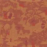 100/8041.CS Chinese Toile Red by Cole & Son