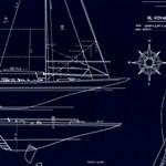 LWP62220W Collection Chesapeak White On Navy by Ralph Lauren